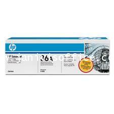 HP LaserJet CB436A Smart Print Cartridge, Black