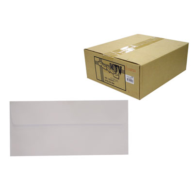ซองขาว เบอร์ 9 KTV รุ่น 9/125/P500 white envelopes