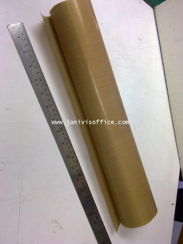 ผ้าทนความร้อนสำหรับเครื่องซีลพลาสติก ขนาด 20x40 ซม.