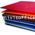 ฟิวเจอร์บอร์ดPP BOARD หรือ พลาสติกลูกฟูก ขนาด 130x245หนา 3 มม.