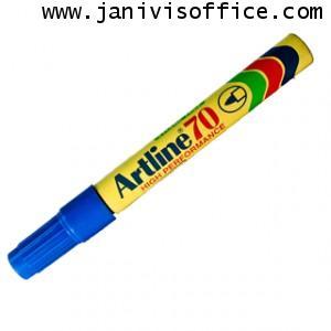 ปากกาเคมี อาร์ทไลน์ EK-70 สีน้ำเงิน