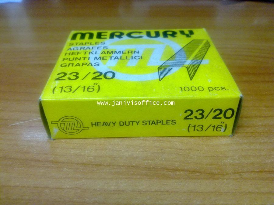 ลวดเย็บเมอร์คิวรี่ เบอร์23/20 Mercury (1,000ตัว/กล่อง)