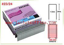ลวดเย็บกระดาษอโรม่า AROMA Staples เบอร์23/24