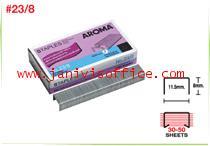 ลวดเย็บกระดาษอโรม่า AROMA Staples เบอร์23/8