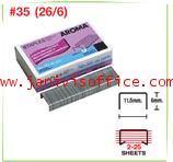 ลวดเย็บกระดาษอโรม่า AROMA Staples เบอร์ 35 (26/6)