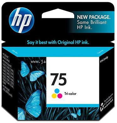 ตลับหมึกอิงค์เจ็ท HP75  (CB337WA) Tri-Color