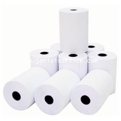 กระดาษบวกเลขปอนด์ 3นิ้ว(75X54มม.)ซากุระ  แพ็คละ 10 ม้วน