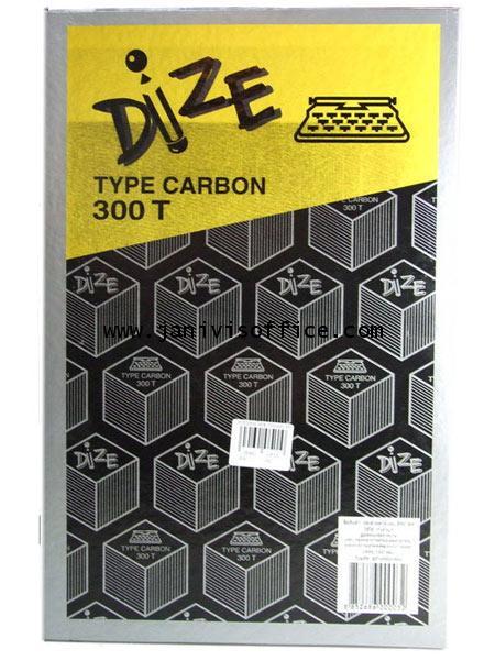 กระดาษคาร์บอน DIZE no.300Tดำ