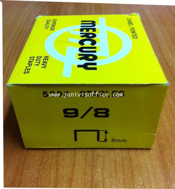 ลวดเย็บเมอร์คิวรี่ เบอร์9/8 Mercury (5,000ตัว/กล่อง)