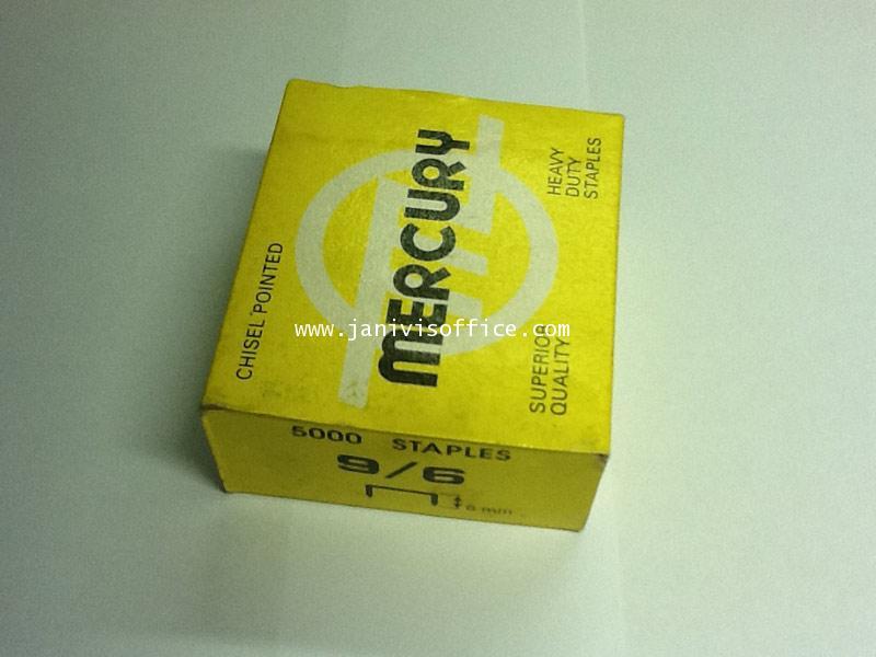 ลวดเย็บเมอร์คิวรี่ เบอร์9/6 Mercury (5,000ตัว/กล่อง)
