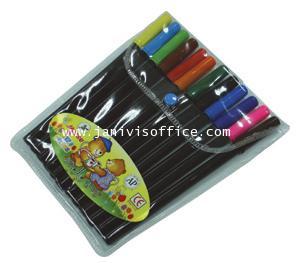 ปากกาสีเมจิ ชุด 12 สี ตราม้า H-88