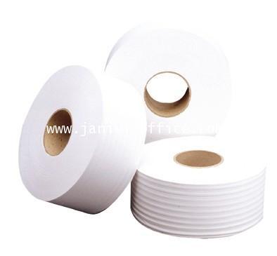 กระดาษชำระ  จัมโบ้โรล ริเวอร์โปรสเปเชี่ยล(2ชั้น)ยาว300เมตร 12ม้วน/หีบ