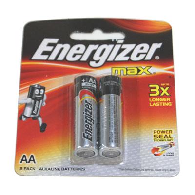 ถ่านอัลคาไลน์  ENERGIZER  รุ่น E91/BP2(AA)