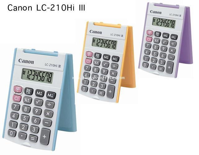 เครื่องคิดเลข CANON LC-210Hi III
