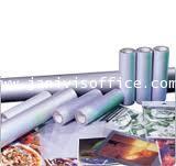 พลาสติกเคลือบเย็นลายมุกด้าน UVขนาด25.5นิ้วx50เมตร