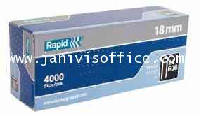 ลวดเย็บ ราปิด 606/18(4000ตัว)Rapid 606/18