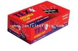 คลิปดำ TEX no.113 (TEX Double Clip 15 mm.)