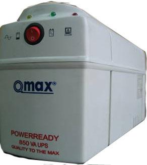 เครื่องสำรองไฟ Qmax UPSกำลังไฟ 850VA/320W