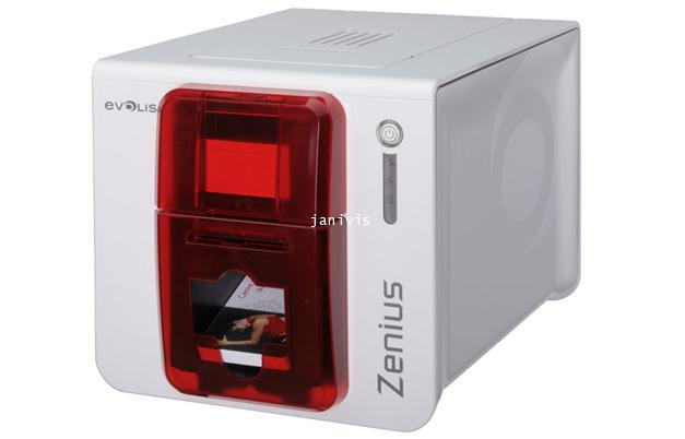 เครื่องพิมพ์บัตรพนักงาน Evolis รุ่น Zenius