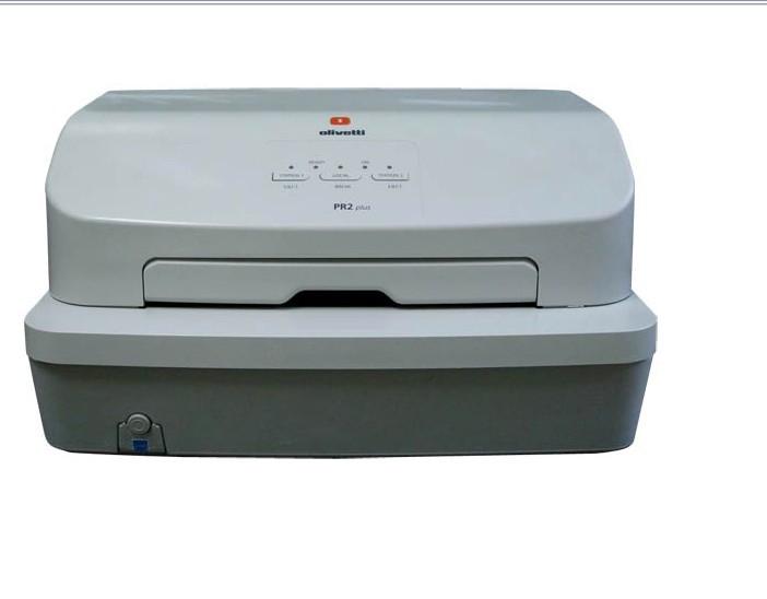 เครื่องพิมพ์สมุดเงินฝาก Olivetti PR2 Plus