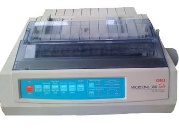 OKI ML390T Dotmatrix Printer