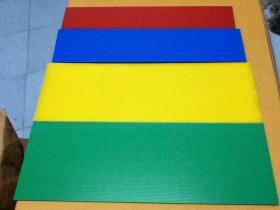 ฟิวเจอร์บอร์ดPP BOARD หรือ พลาสติกลูกฟูก ขนาด 130x245หนา 5 มม.