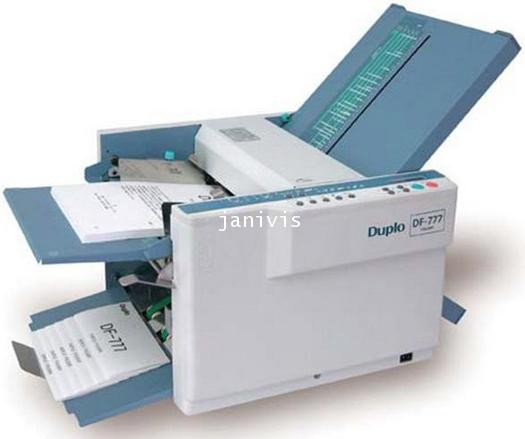 ������������������������������������������������ ������������������ ��������������� ������������ DF-777 Paper Folder