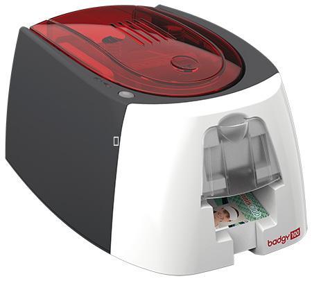 เครื่องพิมพ์บัตรพนักงาน Evolis รุ่น Badgy100