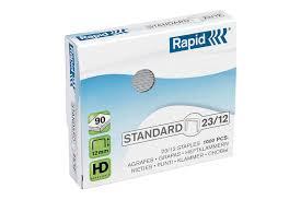 ลวดเย็บราปิด 23/12 ( RAPID23/12) 1000ตัว/กล่อง
