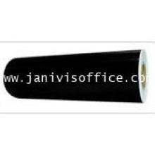 สติกเกอร์พีวีซี สีดำ ชนิดม้วน PVC-53cmx50m