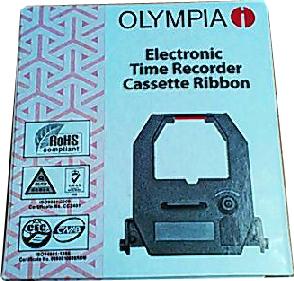 ผ้าหมึกเครื่องตอกบัตร โอลิมเปีย ET5500(Time Recorder Ribbon)