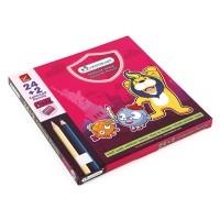ดินสอสี แท่งยาว (กล่อง24สี) มาสเตอร์อาร์ต แถมฟรี กบเหลา1อัน
