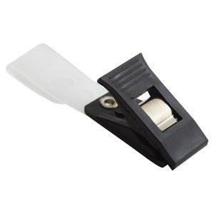 คลิ๊บติดบัตรพลาสติกสีดำ