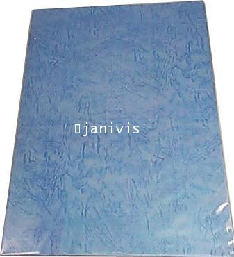 กระดาษหนังช้างนอก 185 แกรมA4 (100แผ่น/ห่อ)สีฟ้าคราม