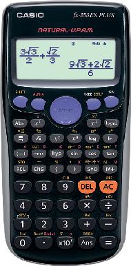 เครื่องคิดเลขวิทยาศาสตร์ CASIO FX 350 ES PLUS