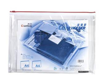 ซองใสซิปรูด  COMIX A4 รุ่น F81