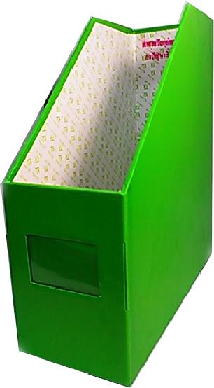 กล่องเอกสารปากตัด 1ช่อง เขียวตอง