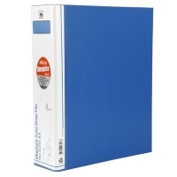 แฟ้มคลิปสปริง ตราช้าง 8250 A4 สัน 5 ซม. สีน้ำเงิน