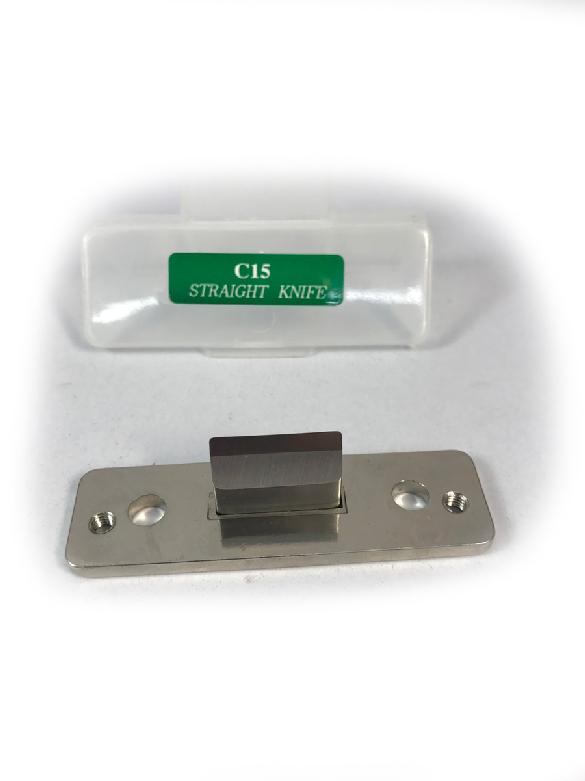 ใบมีดเครื่องตัดมุมบัตรแบบตัดตรง C15