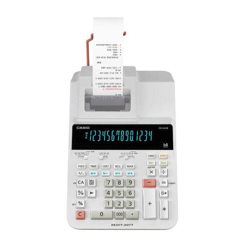 เครื่องคิดเลข คาสิโอ / Casio DR-240R