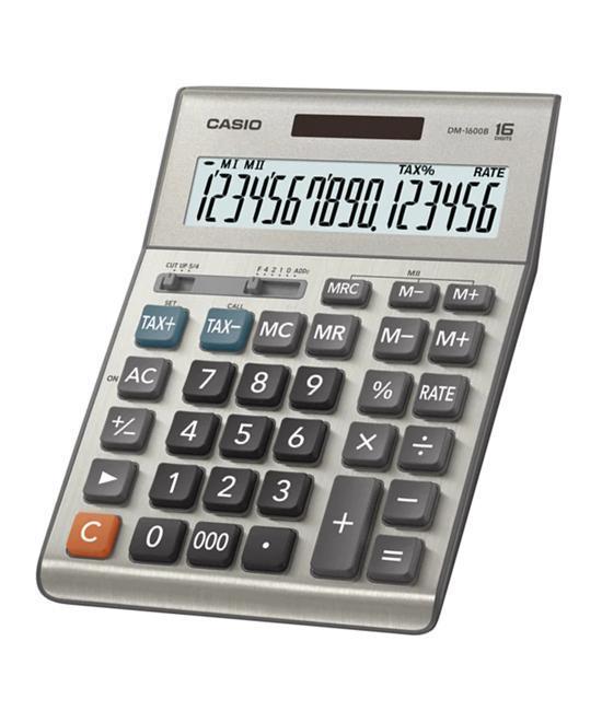 เครื่องคิดเลข คาสิโอ / Casio DM-1600B