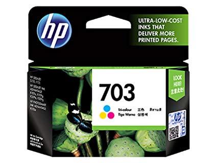 หมึกอิงค์เจ็ทHP 703 สี CD888A HP  Tri-color