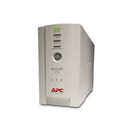 UPS (เครื่องสำรองไฟฟ้า) APC 500 VA (BK500EI)