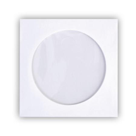 ซองใส่แผ่น CDกระดาษ สีขาว/pack50