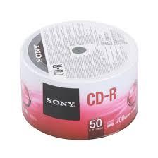 แผ่น CD-R SONY 700MB 48X (แพ็ค 50 แผ่น)