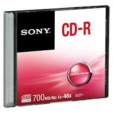แผ่น CD-R SONY 700MB 48X