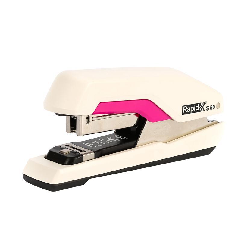 เครื่องเย็บกระดาษ Rapid S50  Rapid S50 PressLess Stapler (50 แผ่น)