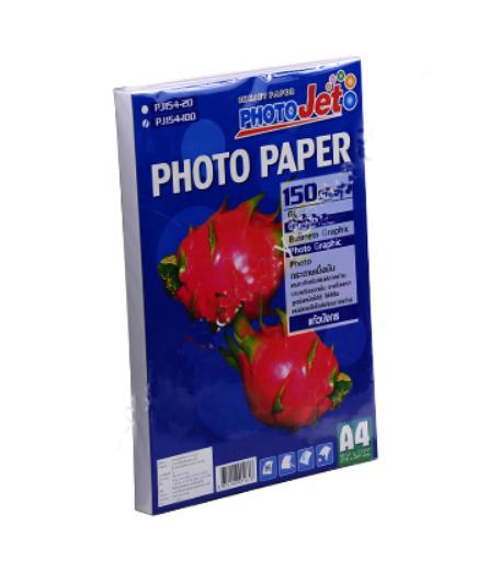 กระดาษฟรุ๊ตซีรีย์โฟโต้เปเปอร์ Hi-jet PJG154-100 150 GSM