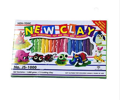 ดินน้ำมันวิทยาศาสตร์ไร้สารพิษNEW CLAY no.1000 (Non-Toxic Clay) 24สีต่อแพ็ค