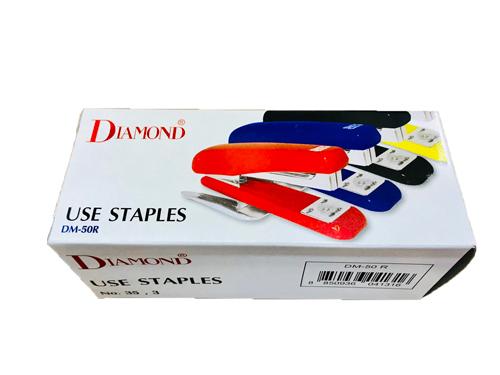 เครื่องเย็บกระดาษ ไดมอนด์ 50R DIAMOND DM-50R(เย็บหนา30แผ่น) 3